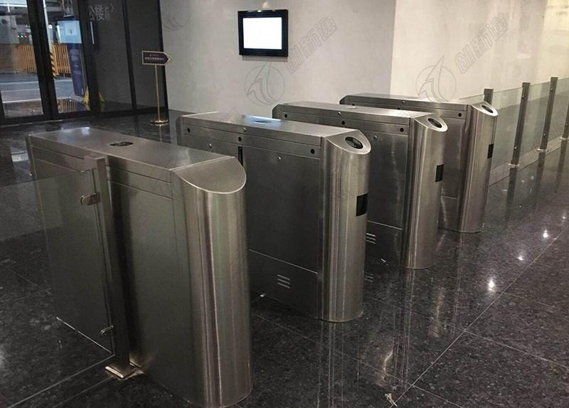 创新通科技翼闸广东中山金融中心大楼使用案例