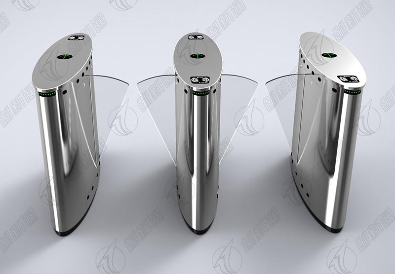 创新通标准椭圆双通道翼闸