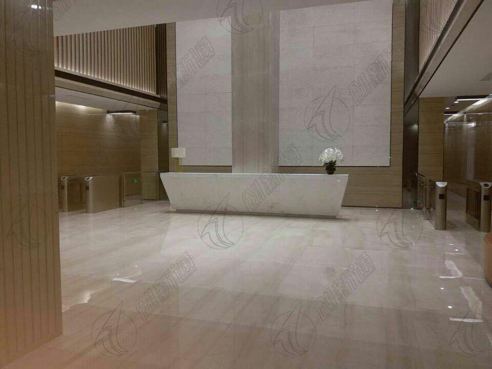 山东临沂豪森丽都大厦使用创新通通道摆闸案例