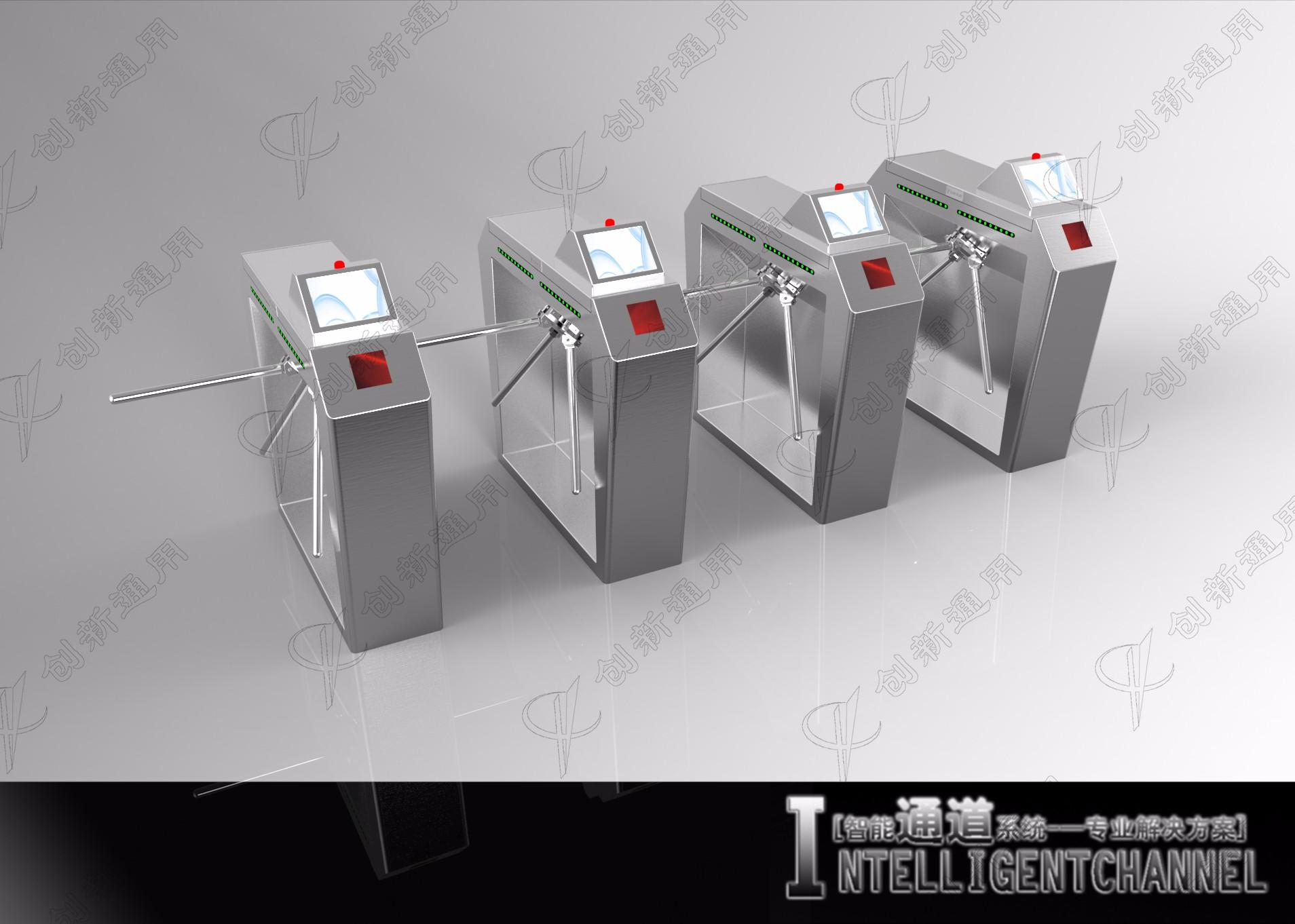三辊闸应用手机二维码票务识别技术