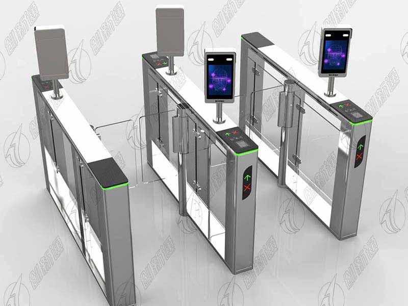 摆闸搭载人脸识别系统让通行更安全更智能